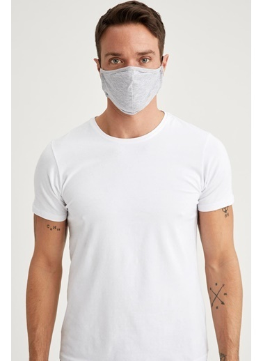 DeFacto Yıkanabilir Maske Antrasit